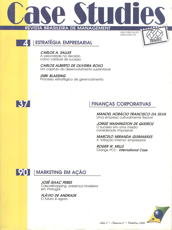Ano I . Nº 0 . Outubro de 1996