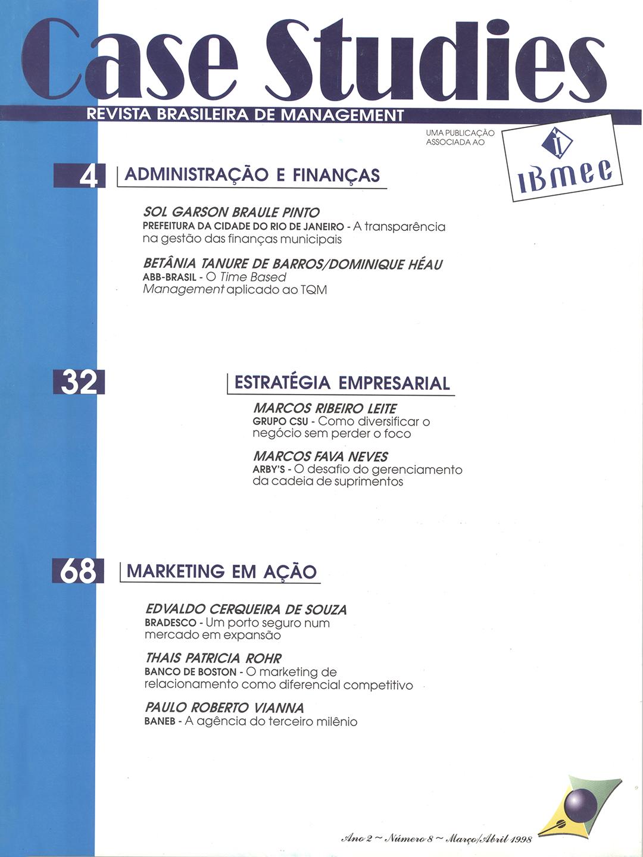 Ano II . Nº 8 . Março/Abril 1998