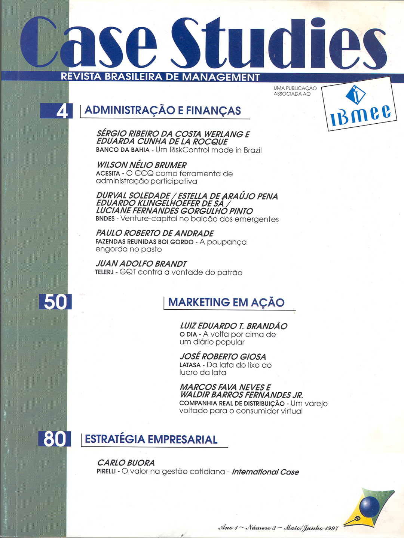 Ano I . Nº 3 . Maio/Junho 1997