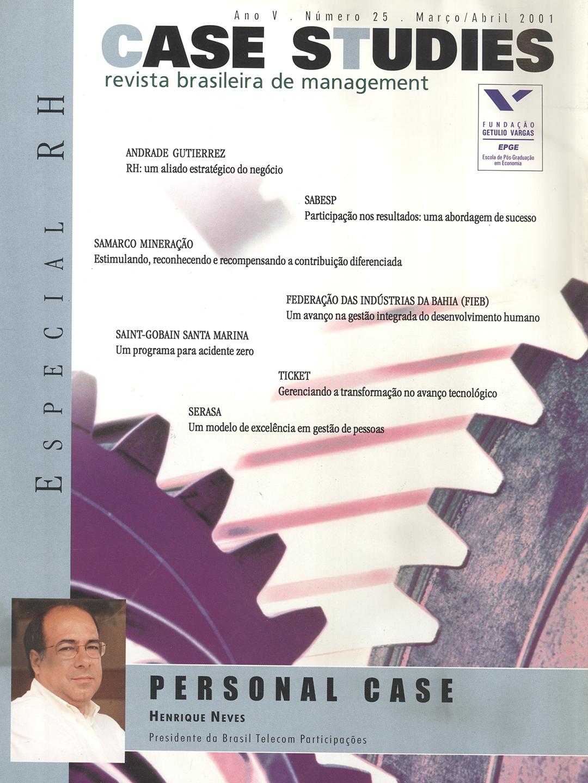 Ano IV . Nº 25 . Março/Abril 2001
