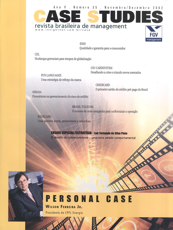 Ano V . Nº 35 . Novembro/Dezembro 2002