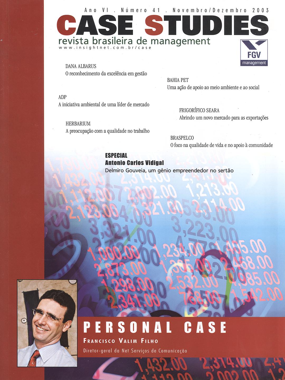 Ano VI . Nº 41 . Novembro/Dezembro 2003