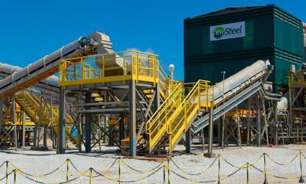 New Steel: Sistema de processamento mineral sem uso de água